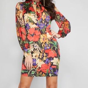 NWT Marciano Guess Bloomsbury Field Dress
